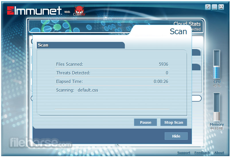 Immunet Screenshot 3