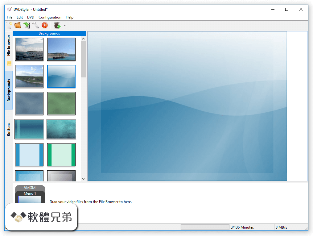 DVDStyler (32-bit) Screenshot 2