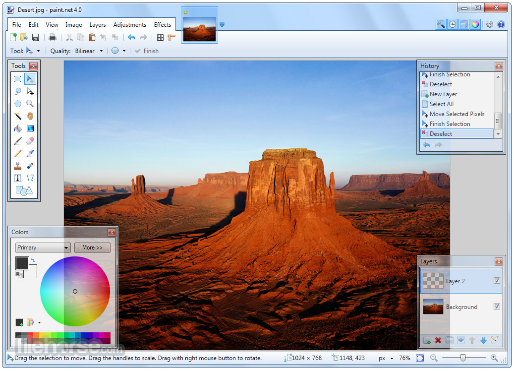 Paint.NET Screenshot 1
