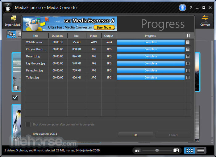 MediaEspresso Screenshot 4