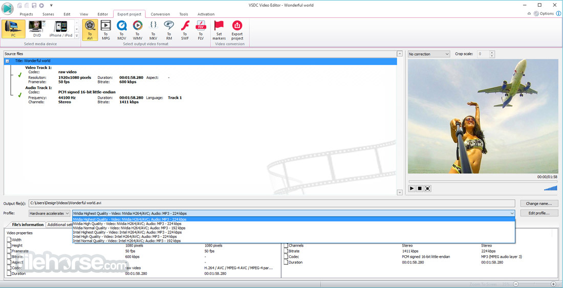 VSDC Free Video Editor (32-bit) Screenshot 3